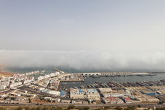 agadir morocco port Royaltyfri Fotografi