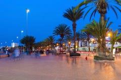 Agadir at night Royalty Free Stock Images