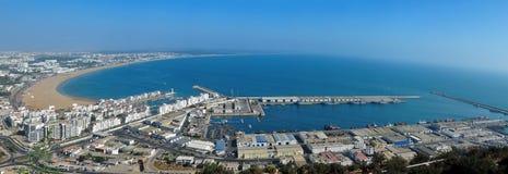 Agadir panorama Fotografering för Bildbyråer
