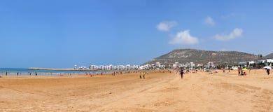 Agadir plaża Obraz Stock