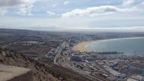 Agadir-Stadt stockbild