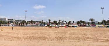 Agadir strand Fotografering för Bildbyråer