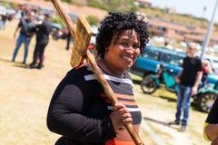 Agains протеста убивая фермеров в Южной Африке Стоковая Фотография RF