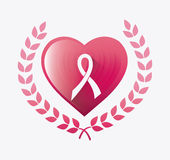 Against breast cancer campaign Stock Photos