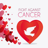 Against breast cancer campaign Royalty Free Stock Images