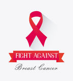 Against breast cancer campaign Royalty Free Stock Photos