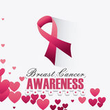 Against breast cancer campaign Royalty Free Stock Photography