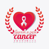 Against breast cancer campaign Royalty Free Stock Image