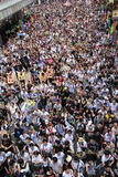2012 Against government marches in hong kong Royalty Free Stock Images