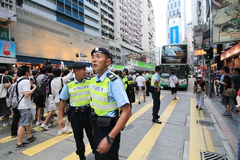2012 against government marches in hong kong Stock Photos