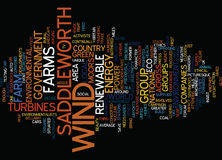 For Or Against Wind Farms Text Background  Word Cloud Concept. FOR OR AGAINST WIND FARMS Text Background Word Cloud Concept Stock Photos