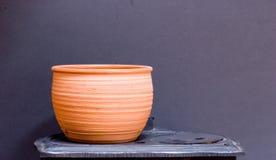 Againts de la cerámica de la arcilla grises Foto de archivo
