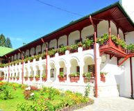 Agapia monastery-nun living conditions Royalty Free Stock Photo