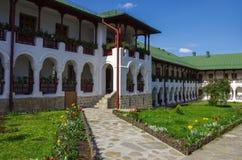 Agapia ortodoksyjny monaster w Neamt okręgu administracyjnym Zdjęcia Royalty Free