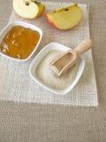 Agar i jabłczana galareta Obrazy Stock