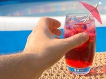 Agarre essa bebida Imagem de Stock