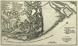 Agarre la correspondencia de Quebec City, 1759. Imágenes de archivo libres de regalías