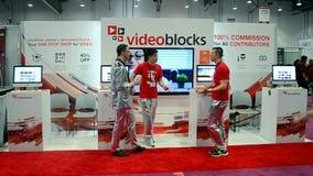 AGARRE la exposición 2015 de la demostración en Las Vegas, los E.E.U.U., almacen de video