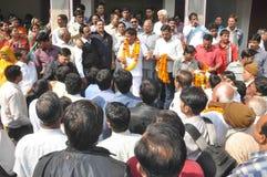 Agarwal Samaj Samiti的Pawan Goyal总统 免版税库存图片