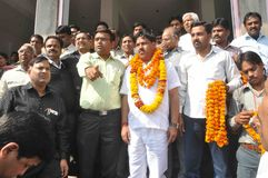 Agarwal Samaj Samiti的Pawan Goyal总统 免版税库存照片