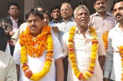 Agarwal Samaj Samiti的Pawan Goyal总统 库存照片