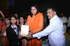 Agarwal Samaj Samiti的Pawan Goyal总统 免版税图库摄影