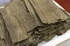 Agarwood Royaltyfri Bild