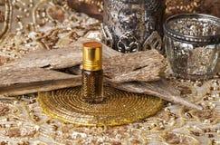 Agarwood istotny olej Obraz Stock