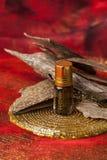 Agarwood kadzidła i oleju układy scaleni Zdjęcie Royalty Free