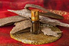 Agarwood olja- och rökelsechiper Royaltyfri Fotografi