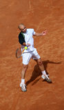 Agassi shot. American player Agassi while playing in the rome championship Stock Photos