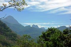 Agasthyamalai或者Agasthyakoodam,在印度的西高止山脉 免版税库存图片