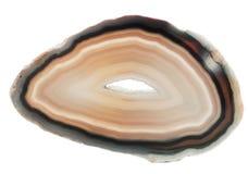 Agatów krystaliczni kwarcowi kopalni geological kryształy Obrazy Royalty Free