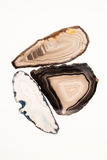 Agatów plasterki Obraz Royalty Free