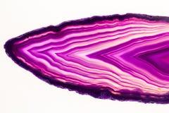 Agatów plasterki Zdjęcie Royalty Free