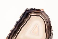 Agatów plasterki Fotografia Stock