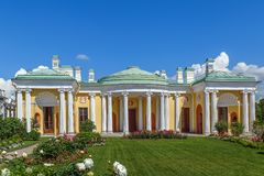 Agatów pokoje, Tsarskoye Selo, Rosja Obraz Stock