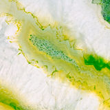 Agat geoda makro- Zdjęcia Stock