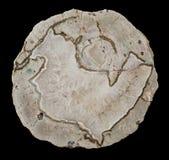 Agat geoda z Kwarcowymi kryształami Obrazy Stock