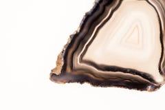 Agat i kwarcowy plasterek Obrazy Royalty Free