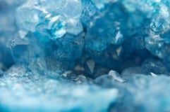 Agat jest skrytokrystalicznym rozmaitością krystaliczna kwarc Makro- Obrazy Royalty Free
