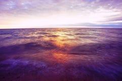 agat plażowy Michigan Obrazy Royalty Free