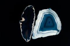 Agat - plasterki i tekstura Obraz Royalty Free
