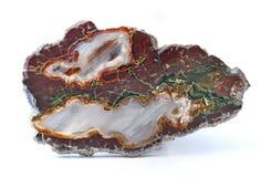 Agat z naturalnymi kolorami Obrazy Royalty Free