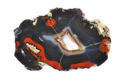 Agat z pięknymi kształtami Fotografia Royalty Free