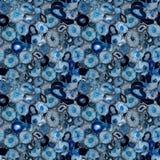 Agata błękit Obrazy Stock