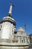 agata Catania katedra Mikołaja Obrazy Royalty Free