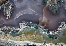 Agata cennego kamienia powierzchni zbliżenie Zdjęcia Stock