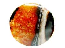 agata chalcedonu kryształ Obrazy Royalty Free