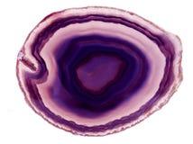 agata chalcedonu kryształ Obrazy Stock